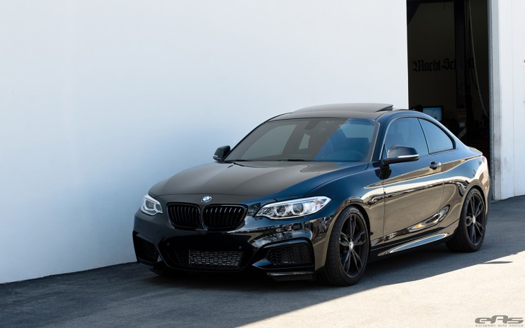 Clean Blacked out BMW M235i Build 4 750x469
