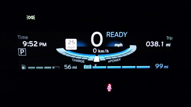 99 miles of predicted range was the most I have ever seen on my i3. This of course was months ago when the temperatures were in the low 80's. I've never actually been able to drive 99 miles before my range extender turned on though. The most I've ever driven was 90 miles once. I've learned that the Guess-o-Meter can be overly optimistic at times!