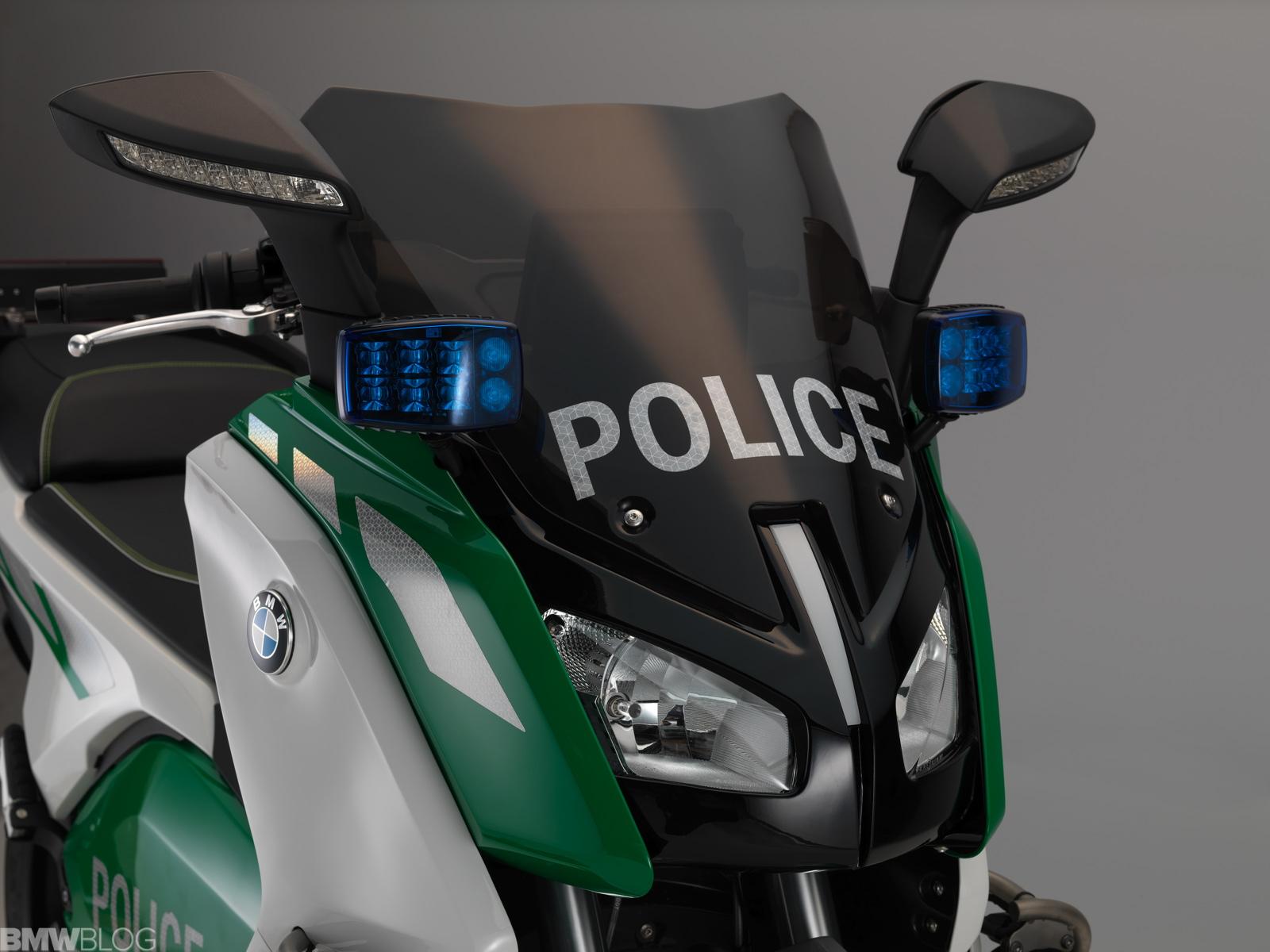 Concept Bmw C Evolution Authorities Vehicle