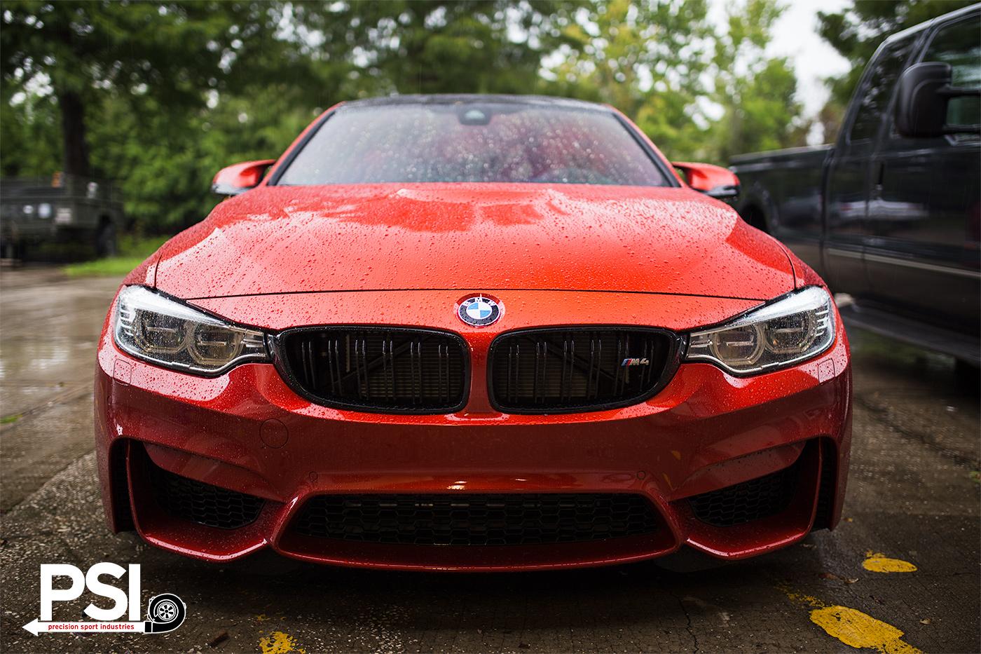 Custom RollBar For BMW M4 By PSI Installation 11