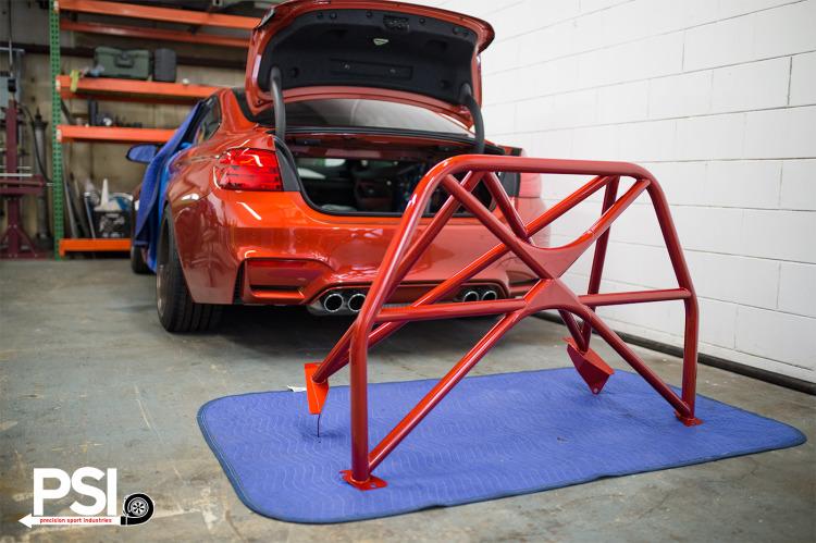 Custom RollBar For BMW M4 By PSI