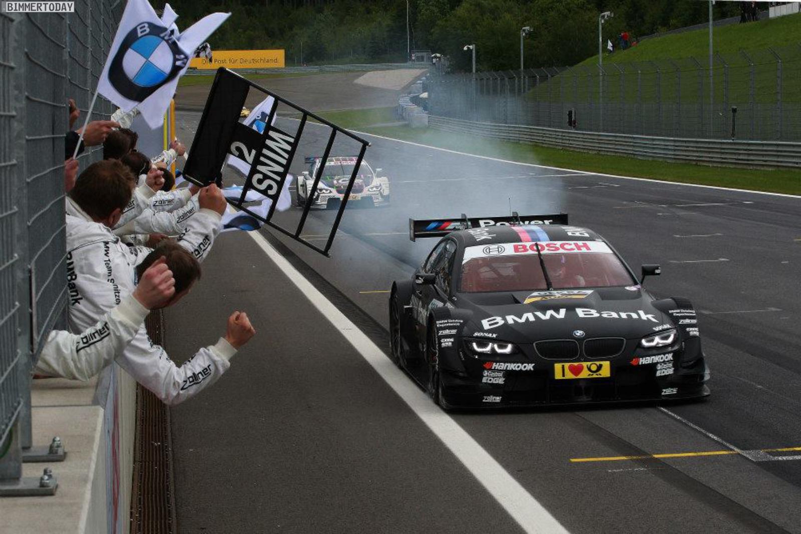 DTM Saison 2013 Spielberg BMW Motorsport M3 08