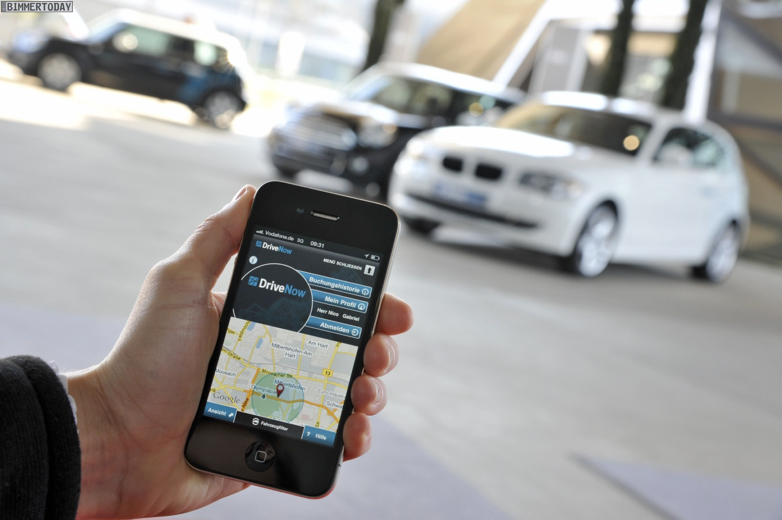 Drivenow Car Sharing Service Expands To Street Parking In San Francisco