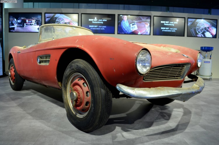 Elvis Presley BMW 507 unrestauriert BMW Museum Lost and Found 02 750x496