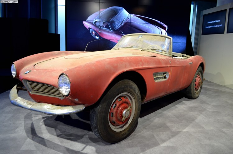 Elvis Presley BMW 507 unrestauriert BMW Museum Lost and Found 04 750x496