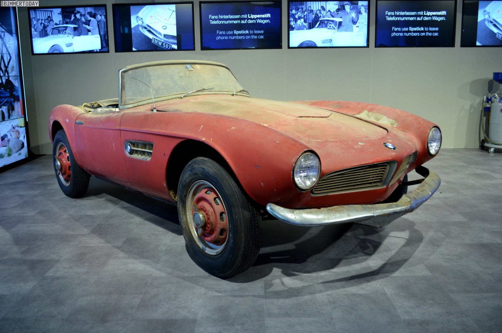 Elvis Bmw 507 Has Finished Its Restoration For Pebble Beach