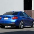 Estoril Blue 228i Lowered On H&R Sport Springs