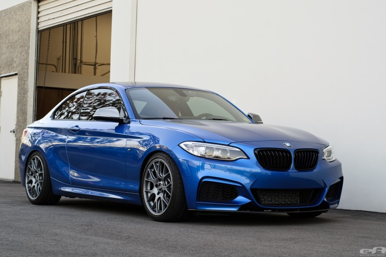 Estoril Blue BMW M235i Build Image 16 750x500