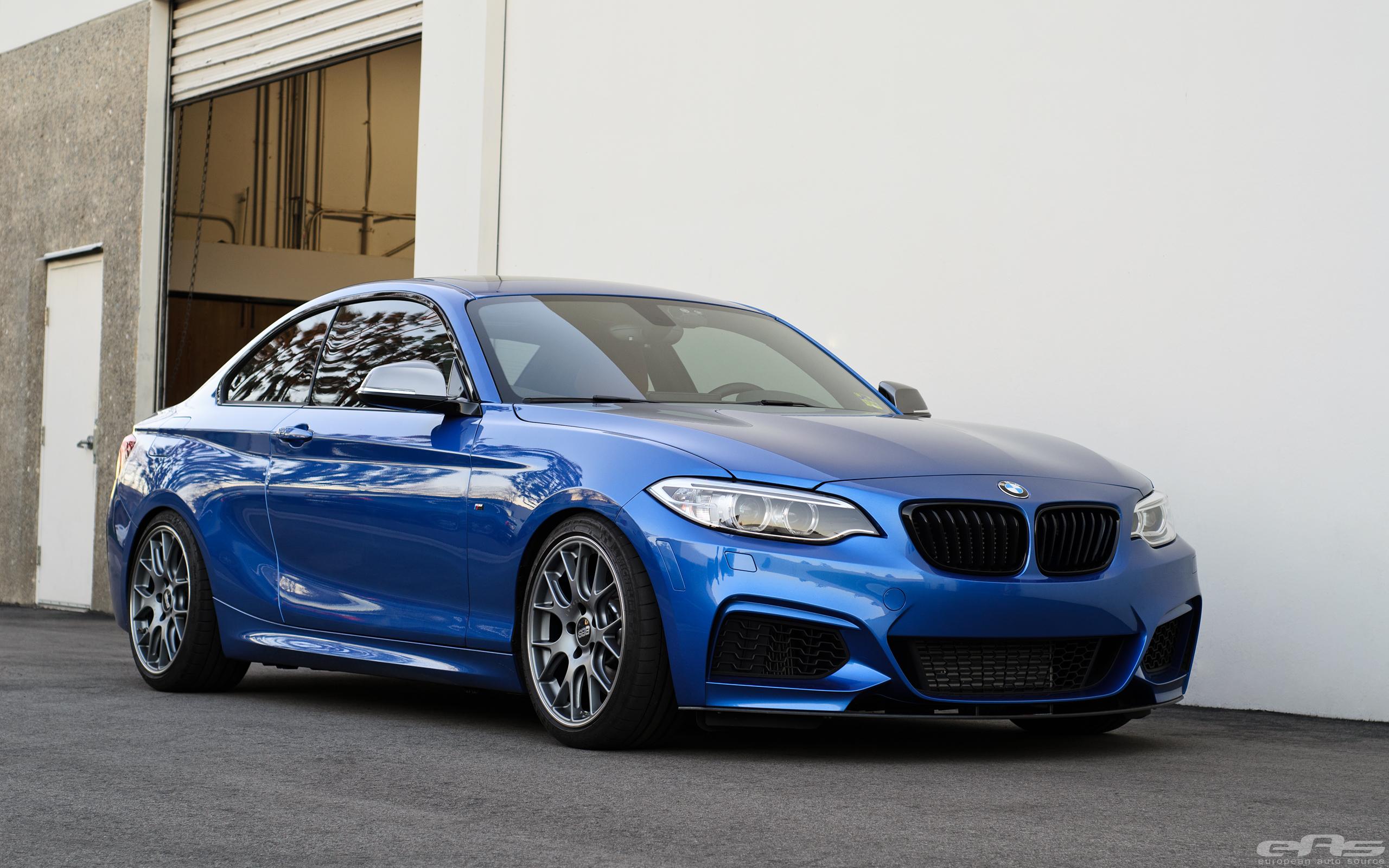 Gorgeous Estoril Blue Bmw M235i Gets Transformed Into A Beast
