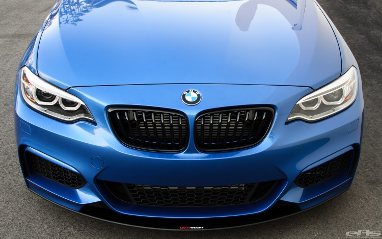 Estoril Blue BMW M235i Build Image 17 750x469