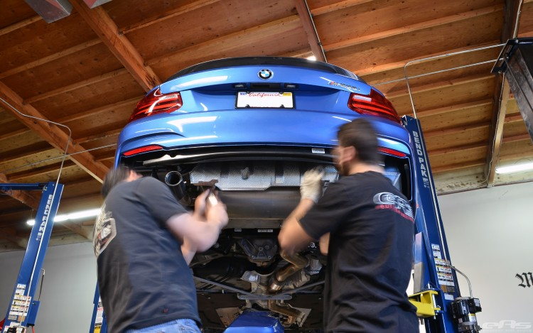 Estoril Blue BMW M235i Build Image 2 750x469