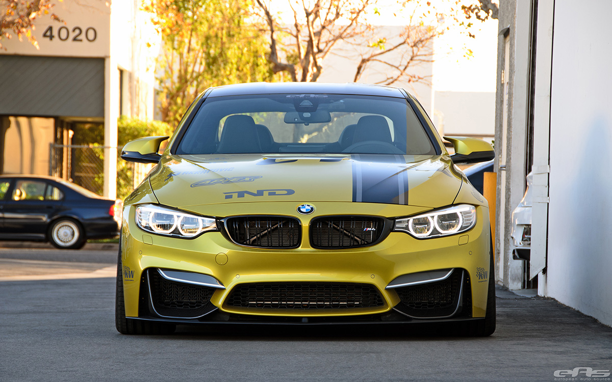European Auto Source M4 Competes In The European Car Tuner GP 16