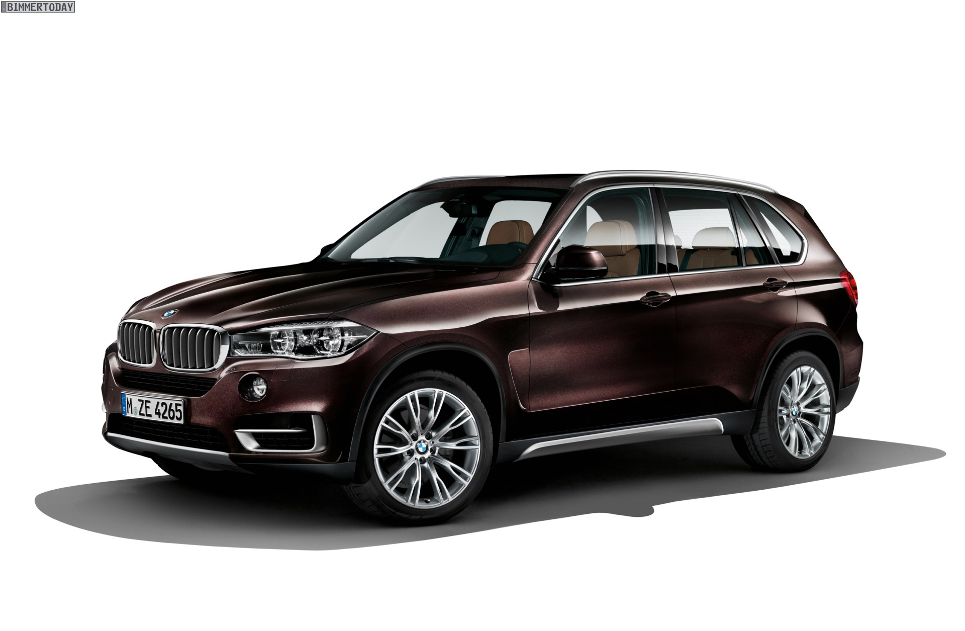2014 Bmw X5 In Individual Pyrite Brown Metallic