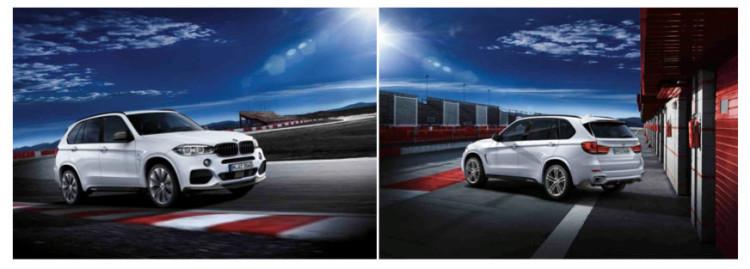 F15 BMW X5 M Performance Parts 750x269