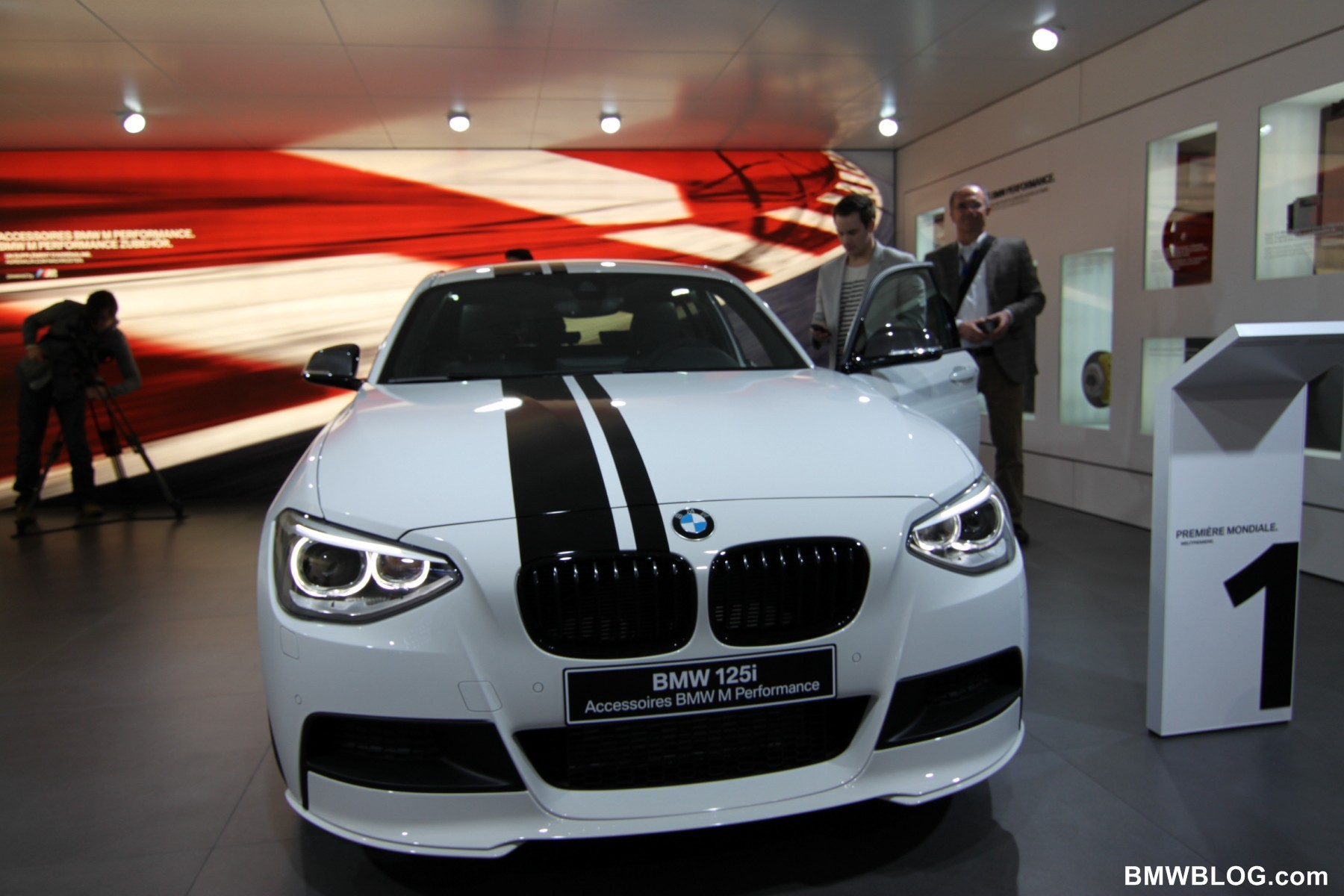 2012 Geneva Motor Show Bmw 125i Performance Parts
