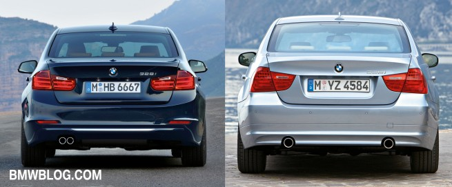 F30 vs e90 3 series comparison 1 655x271