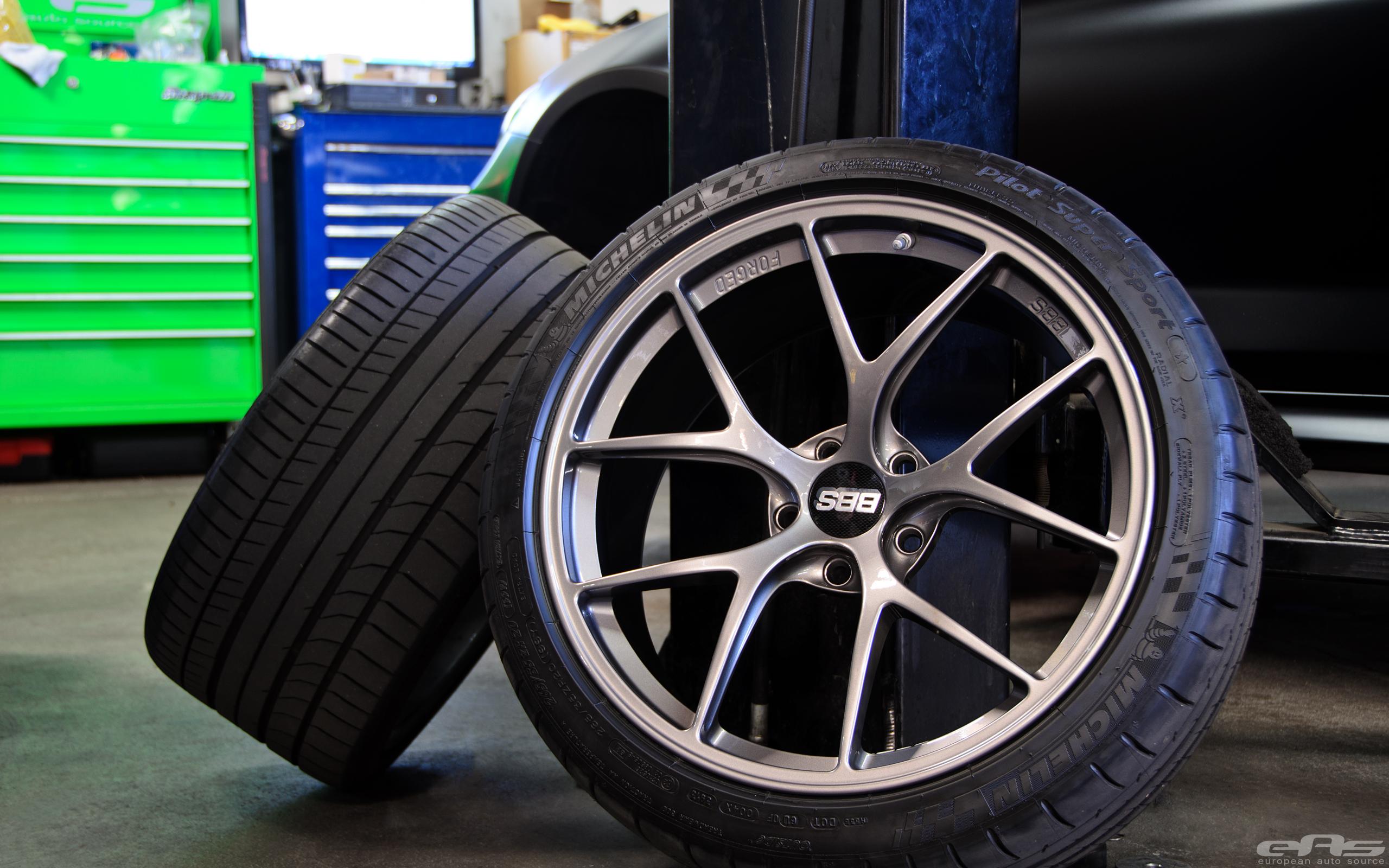 Frozen Black Bmw M6 Gets New Wheels