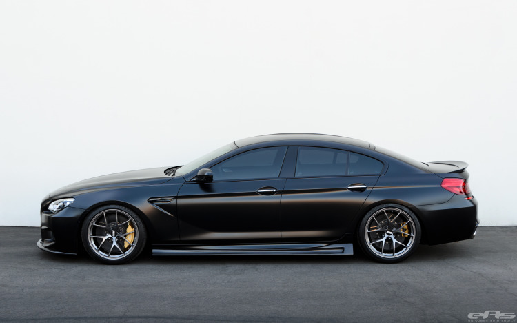 Frozen Black BMW M6