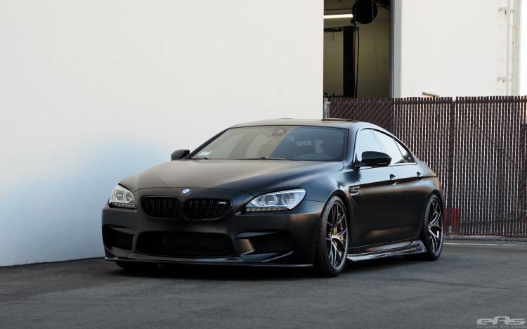 Frozen Black BMW M6
