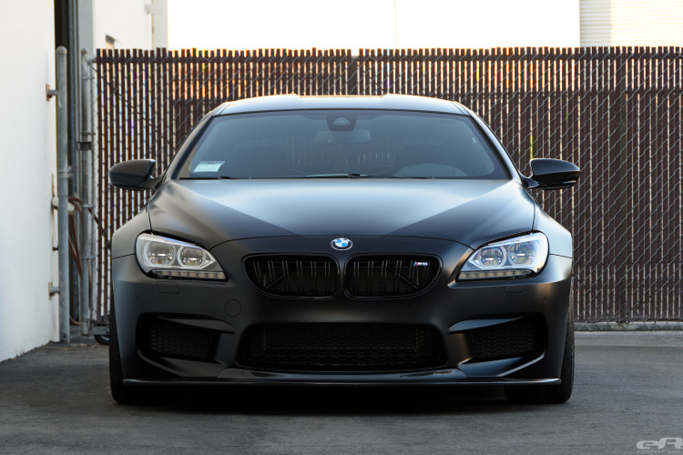 Frozen Black BMW M6 Image 16 750x500