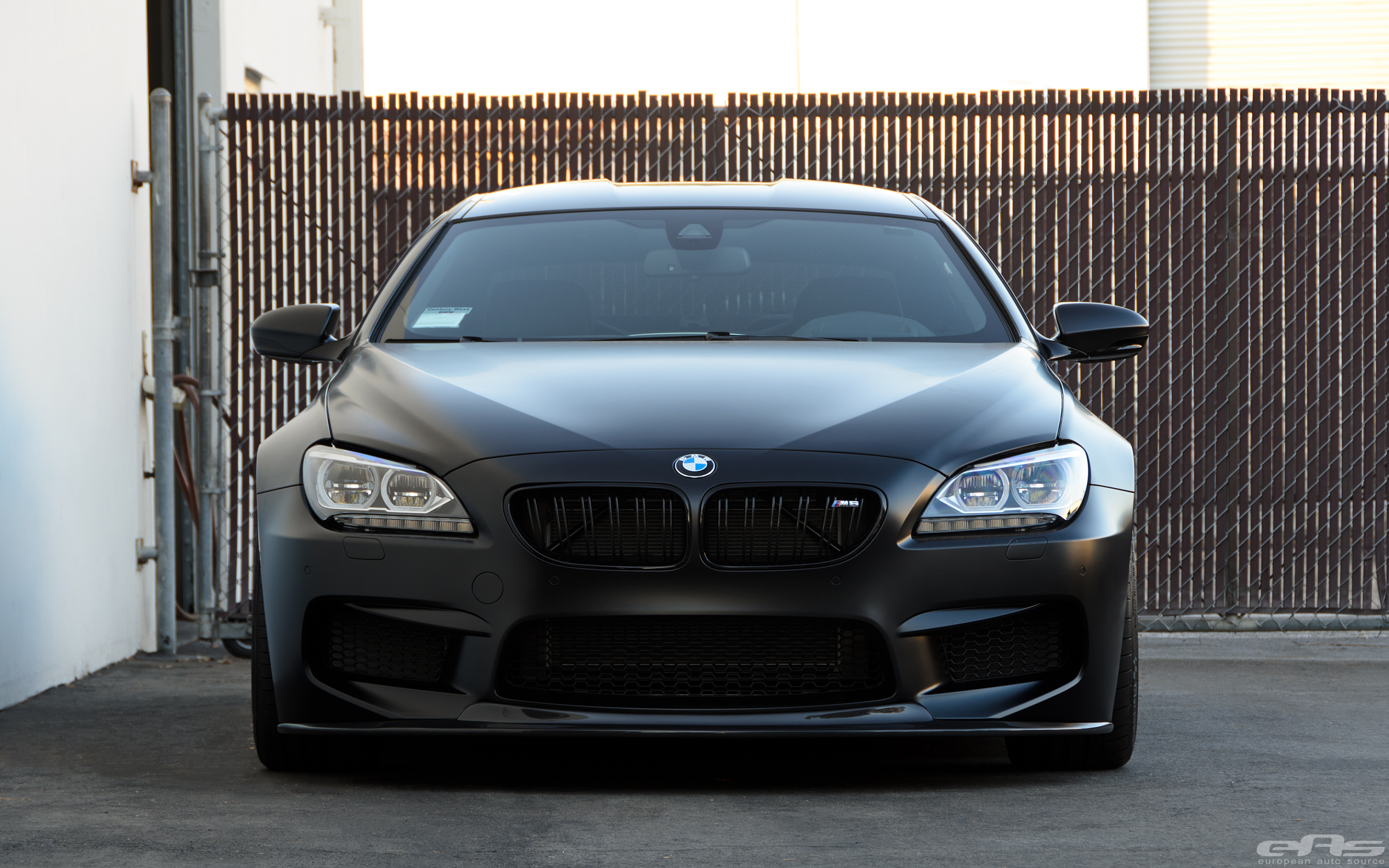 Frozen Black Bmw M6 Gets New Wheels