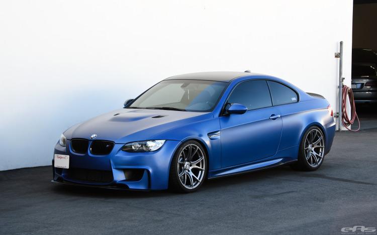 Frozen Blue BMW E92 M3 Image 1 750x468