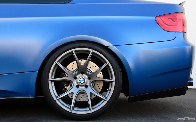 Frozen Blue BMW E92 M3 By EAS