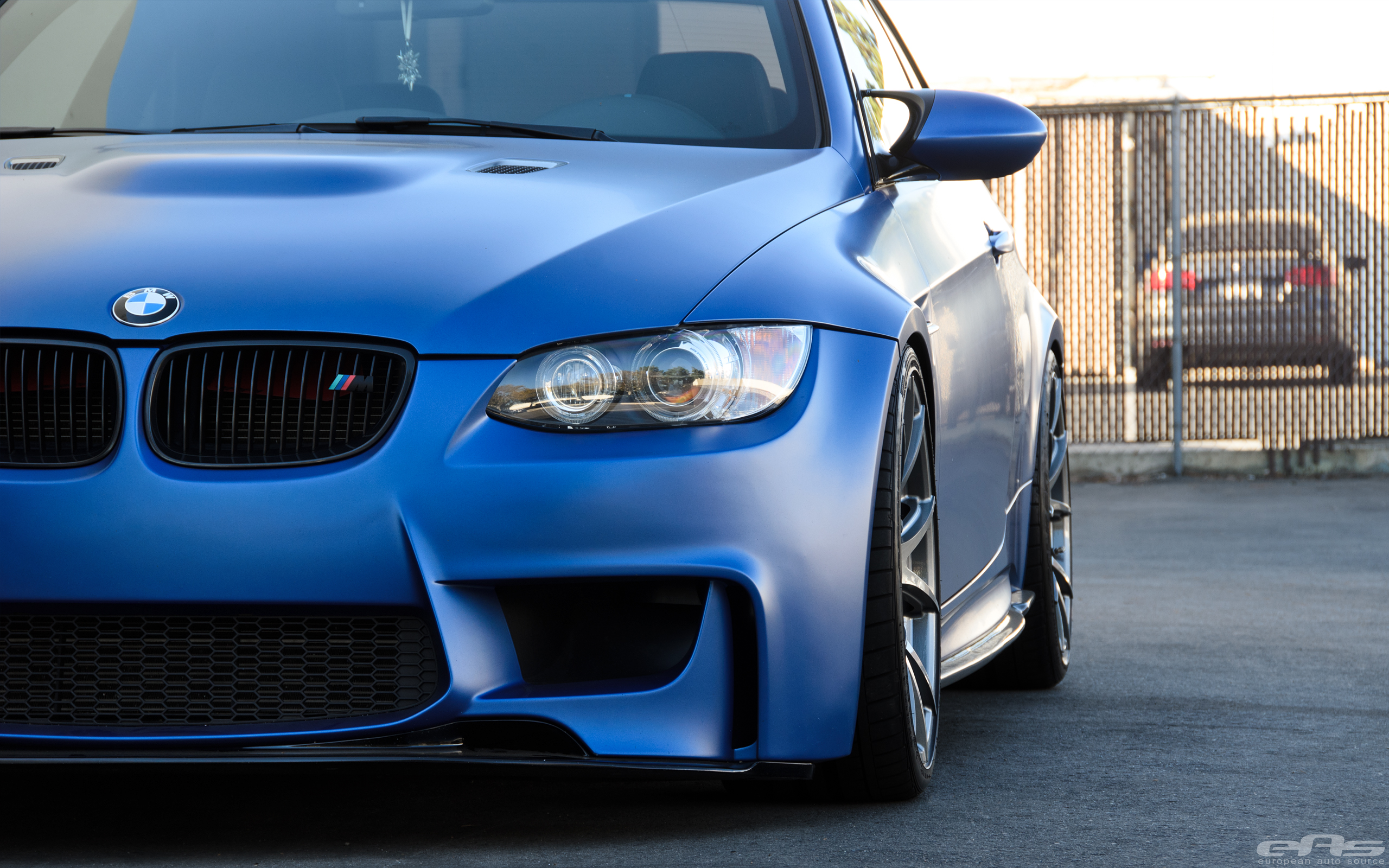 Frozen Blue Bmw E92 M3 In For Some Mods At Eas