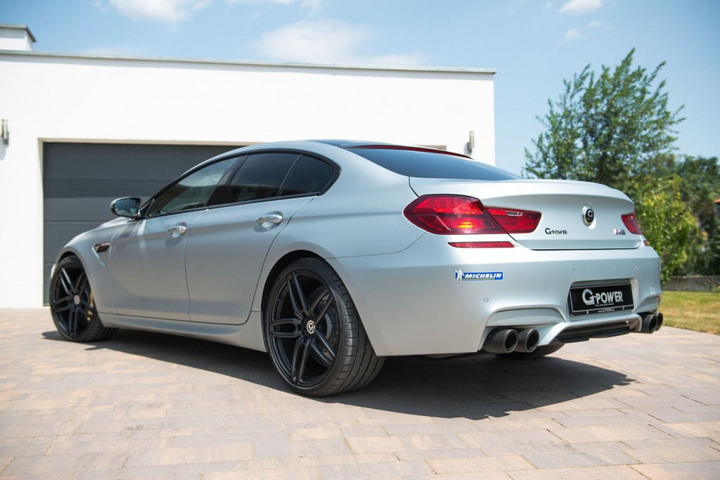Bmw M4 Coupe >> G-Power BMW M6 Gran Coupe with an impressive 740 hp