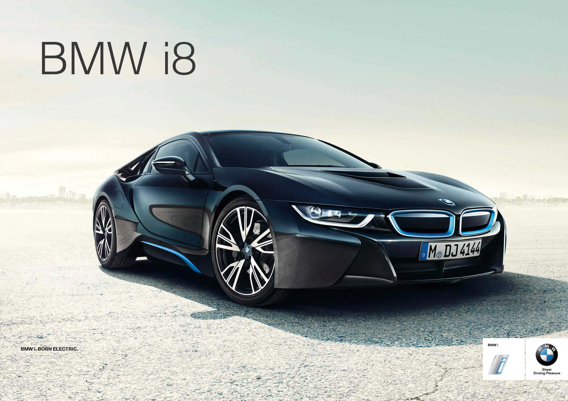 Global launch campaign for BMW i8 01