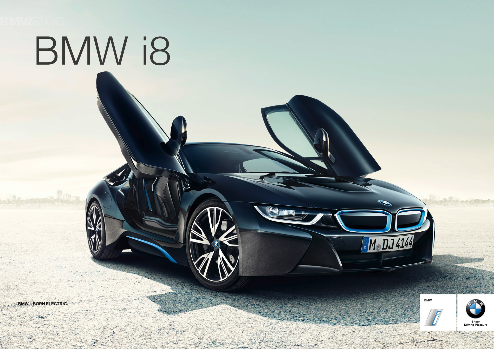 Global launch campaign for BMW i8 02