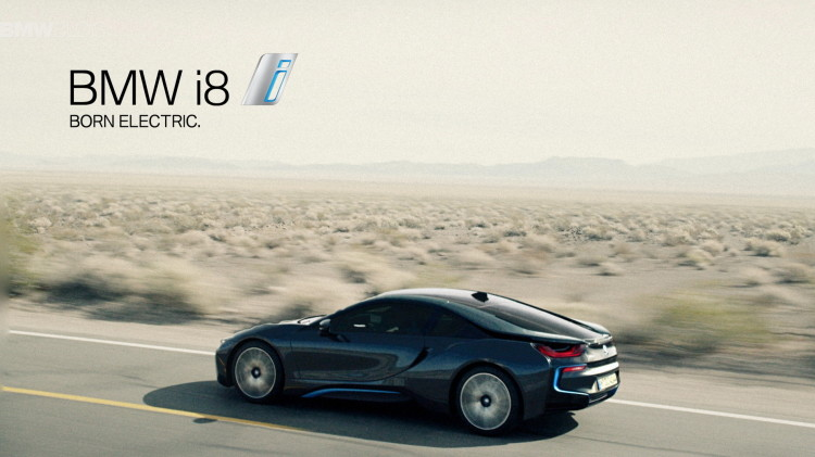 Global launch campaign for BMW i8 10 750x421