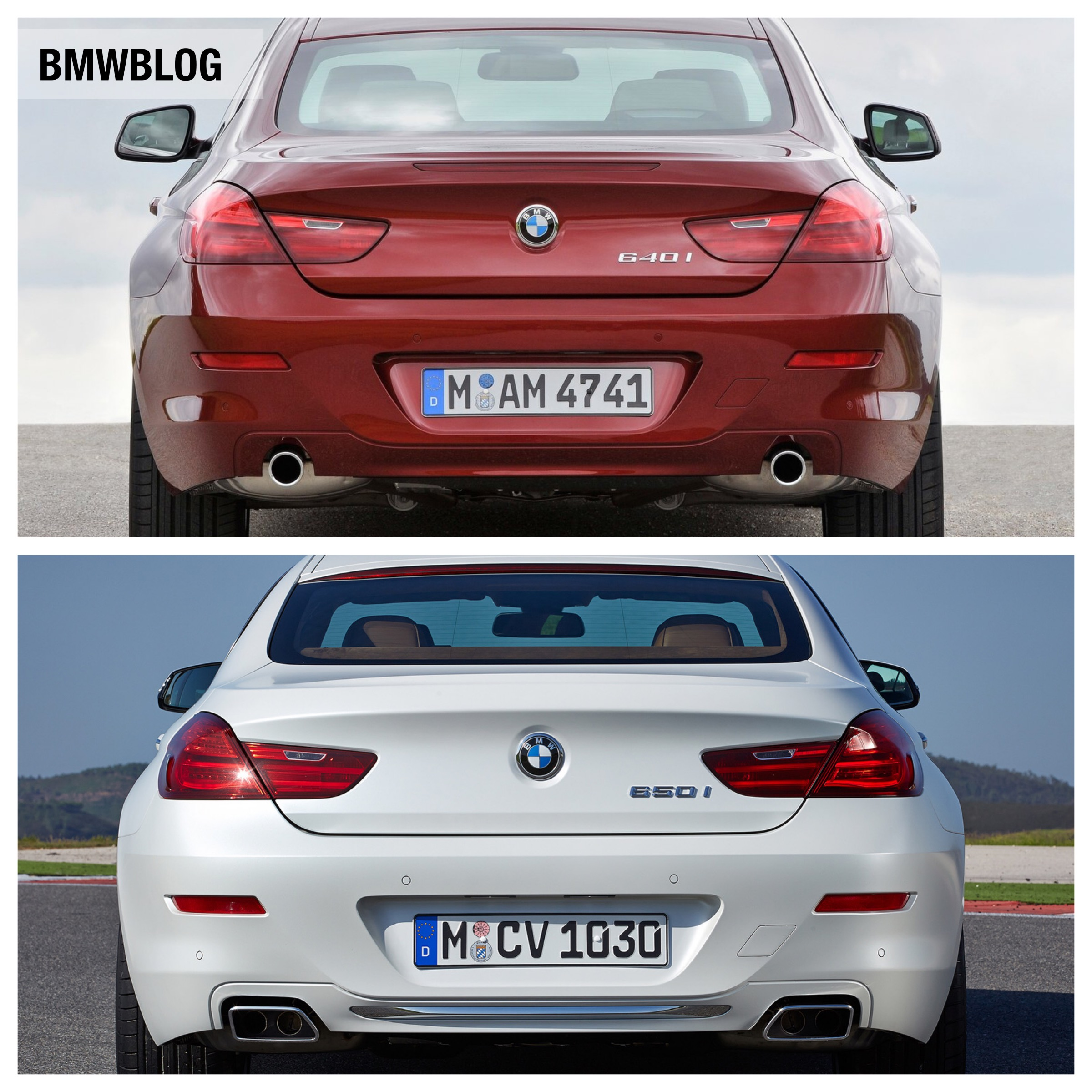 Bmw 3 Series G20 >> Photo Comparison: 2012 BMW 6 Series vs. 2015 BMW 6 Series Facelift