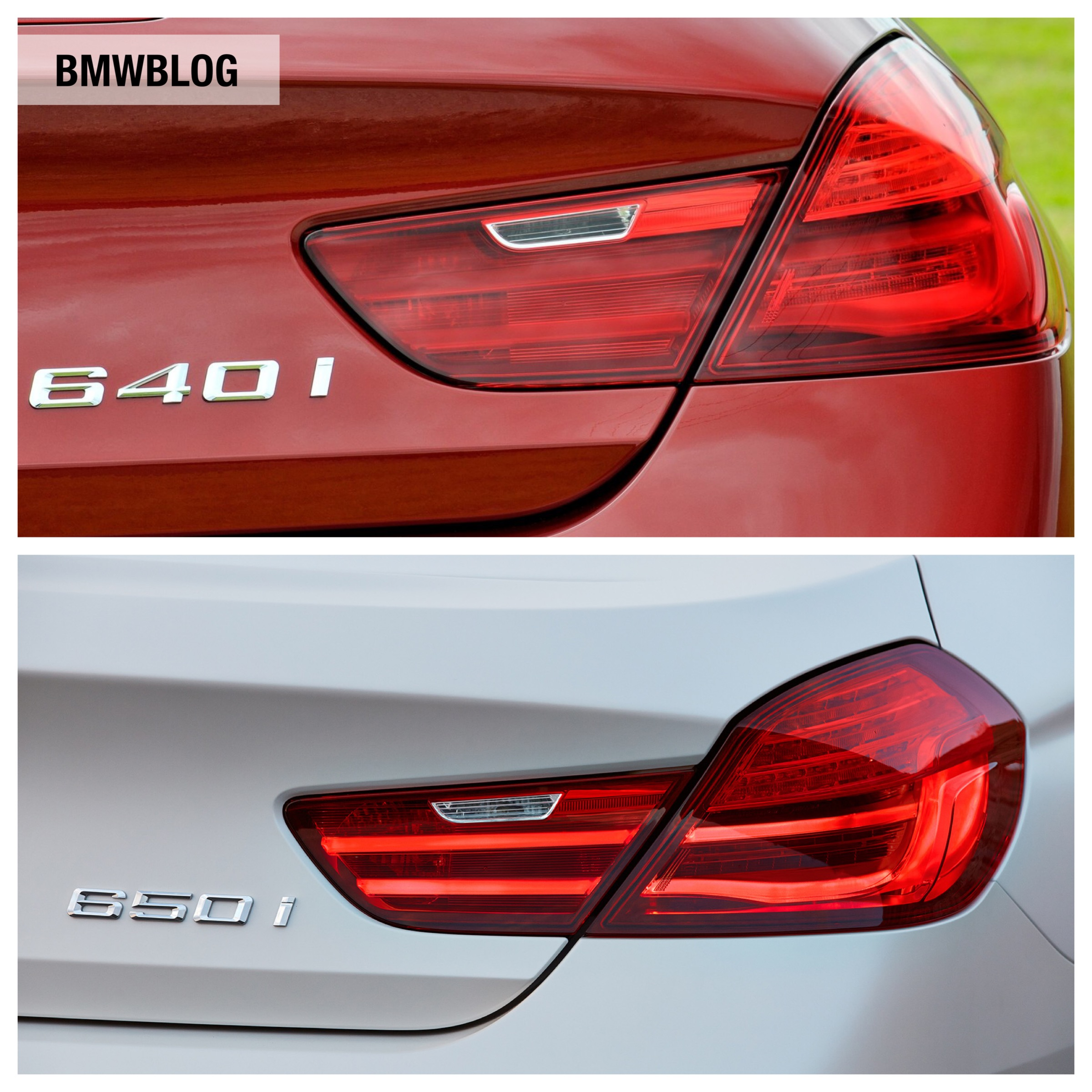 Photo Comparison G20 Bmw 3 Series Vs Facelifted Audi A4: Photo Comparison: 2012 BMW 6 Series Vs. 2015 BMW 6 Series