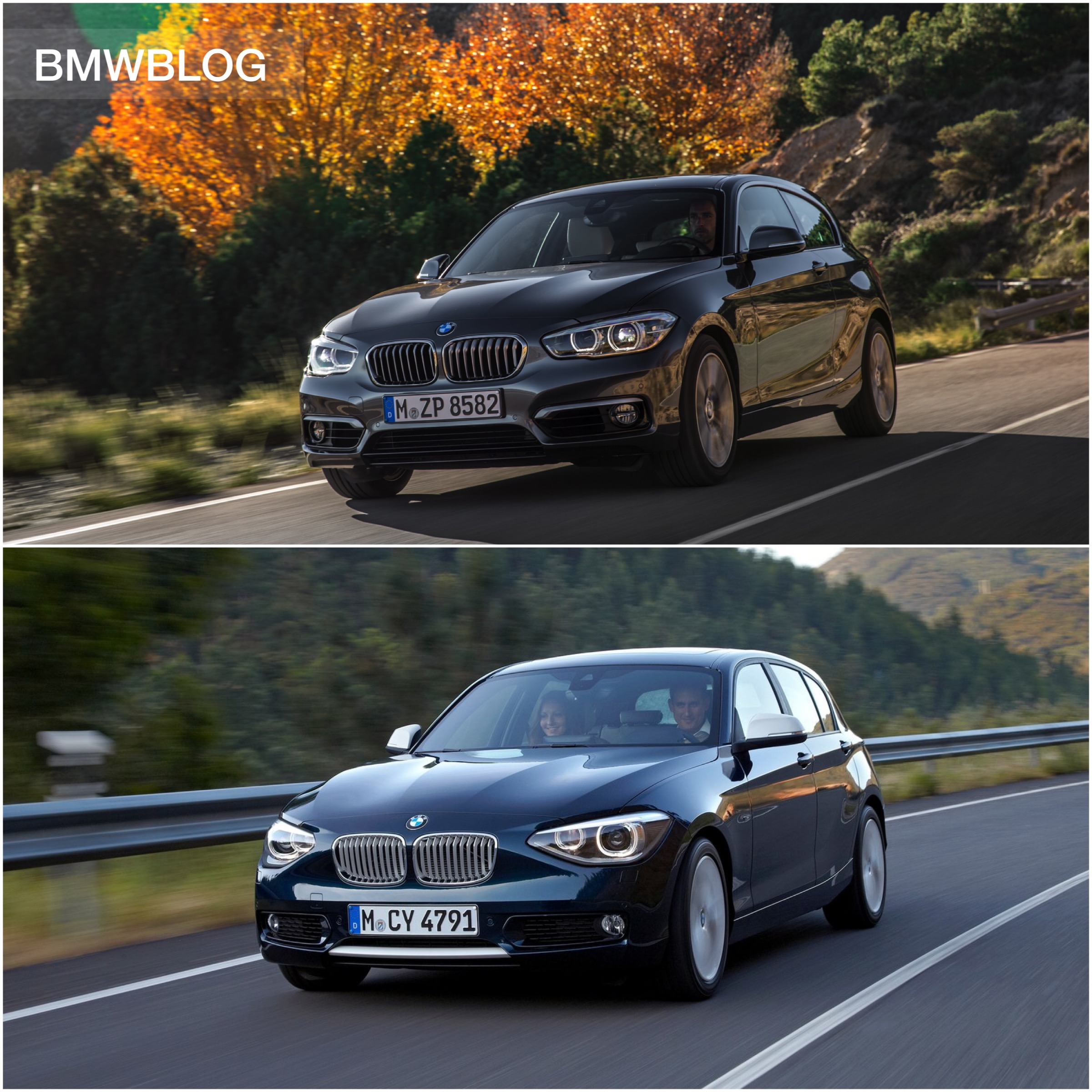 2015 BMW 1 Series Facelift New vs Old Side by Side parison