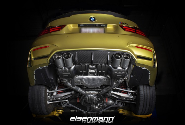 IND Installs An Eisenmann Exhaust System On A BMW M4 Image 1 750x507