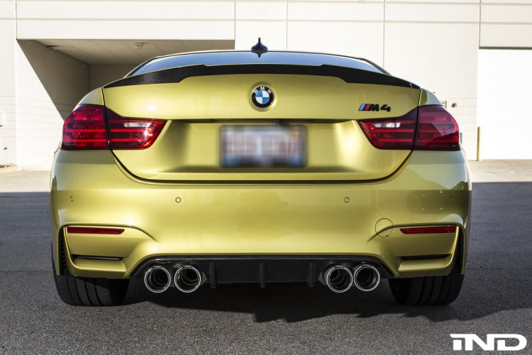IND Installs An Eisenmann Exhaust System On A BMW M4 Image 4 750x500