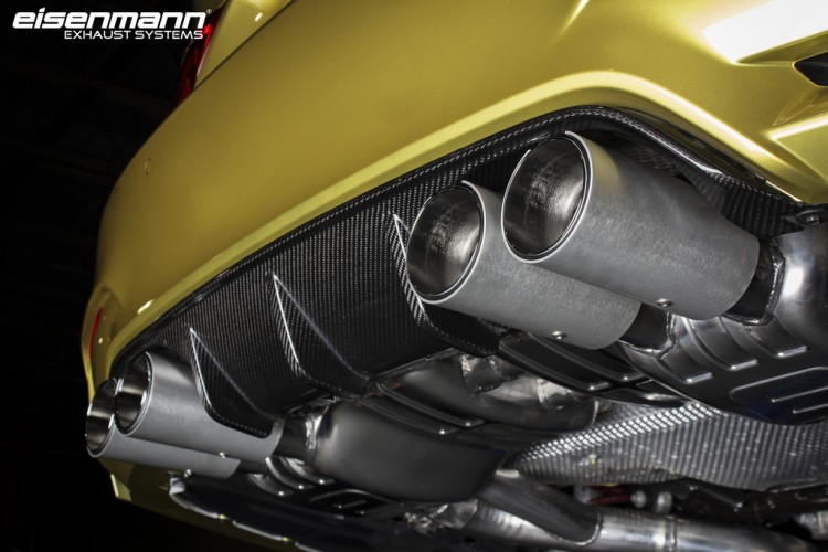 IND Installs An Eisenmann Exhaust System On A BMW M4 Image 6 750x500