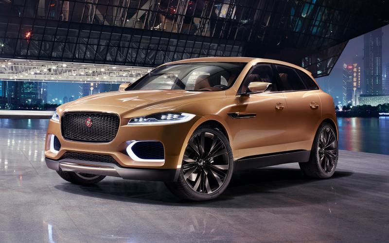 Jaguar F Pace 2