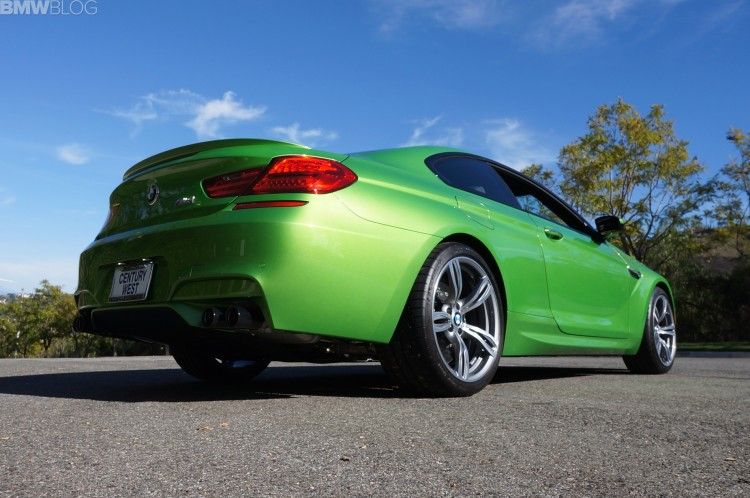 Java Green 2014 BMW M6 Coupe Competition Package 03 750x498