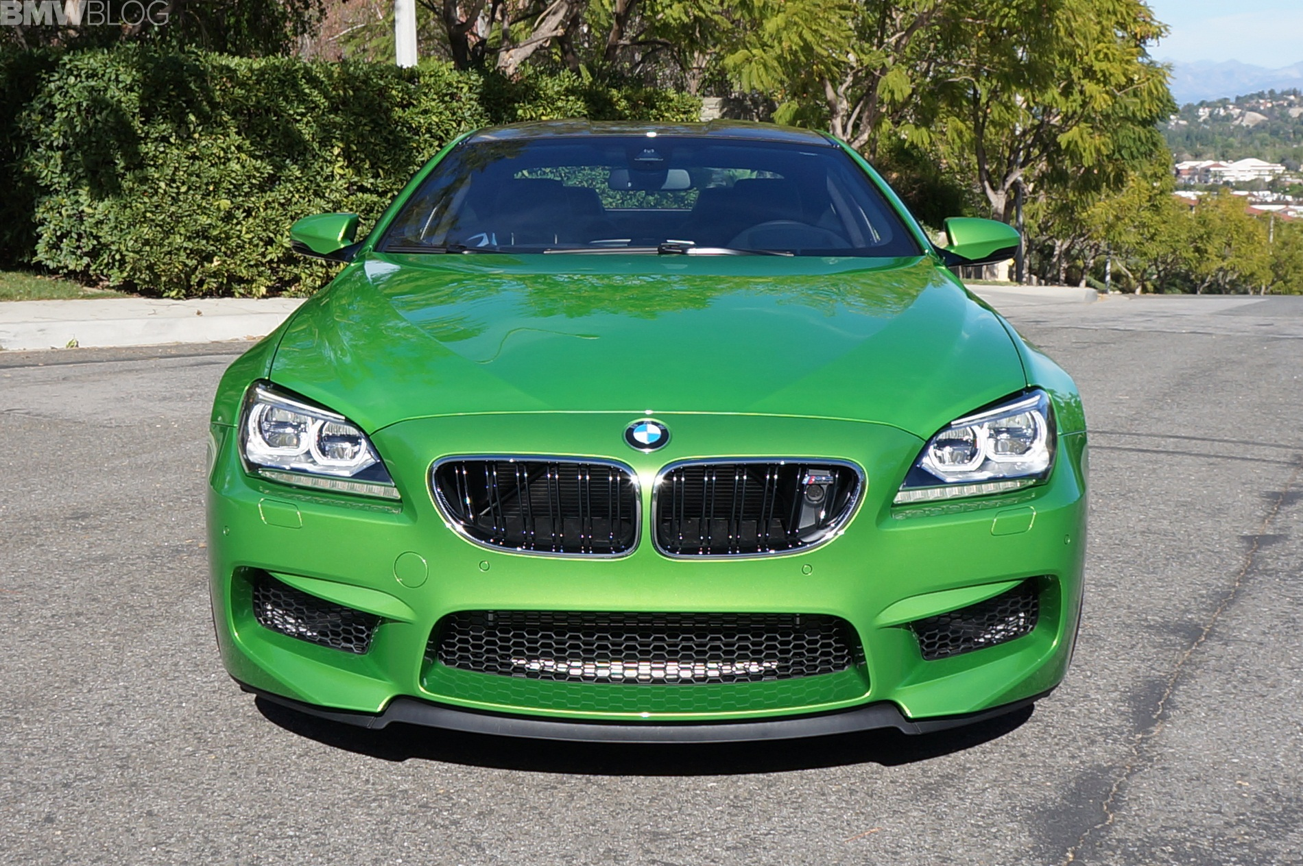 Java Green 2014 BMW M6 Coupe Competition Package 10
