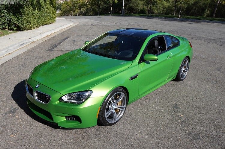 Java Green 2014 BMW M6 Coupe Competition Package 13 750x498