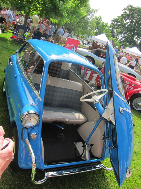 Kansas City Art Institute Art of the Car Concours-isetta-5