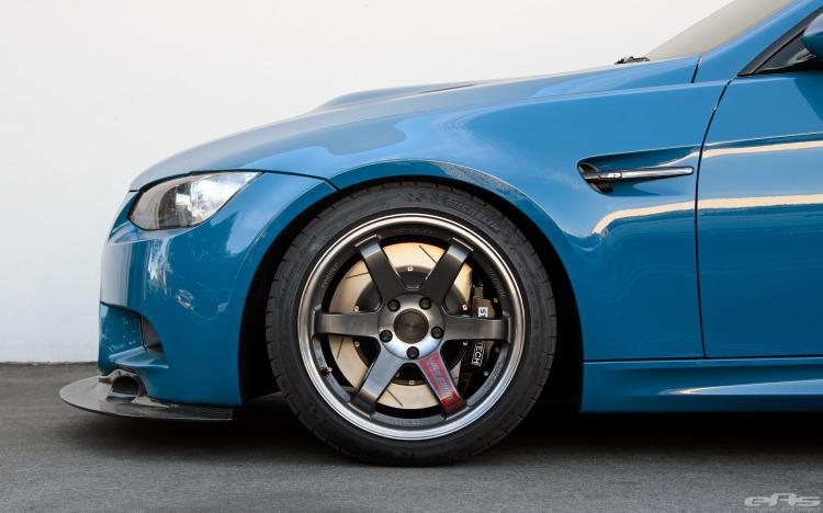 Laguna Seca Blue BMW E92 M3 Build By European Auto Source