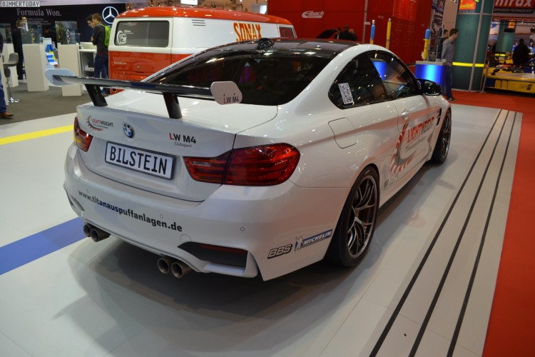 Lightweight BMW M4 Tuning F82 Essen Motor Show 2014 Live Fotos 11 750x500