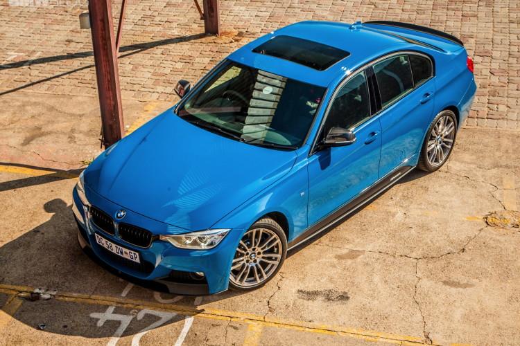 Limited Edition BMW 3 Series Sedan M Performance Edition in Laguna Seca Blue 12 750x500