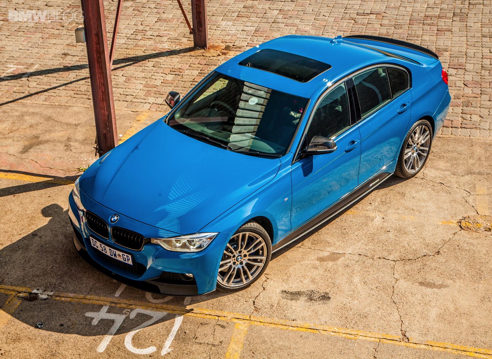 Limited Edition BMW 3 Series Sedan M Performance Edition in Laguna Seca Blue 12