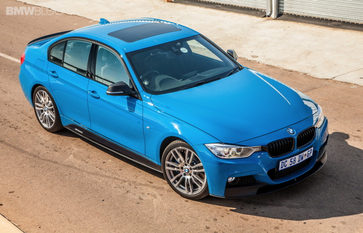 Limited Edition BMW 3 Series Sedan M Performance Edition in Laguna Seca Blue-14