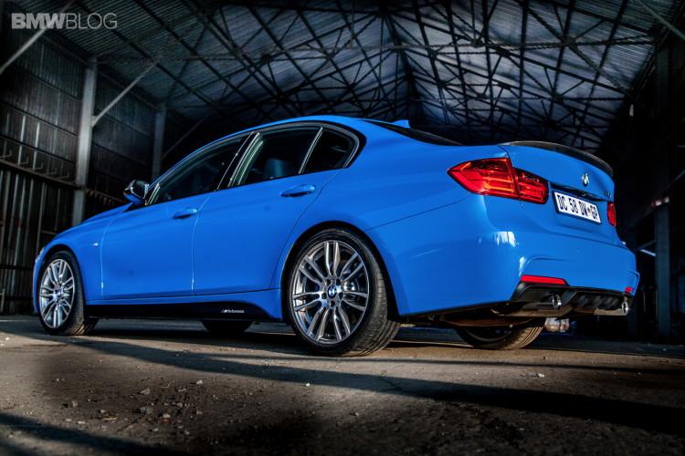 Limited Edition BMW 3 Series Sedan M Performance Edition in Laguna Seca Blue 21 750x500