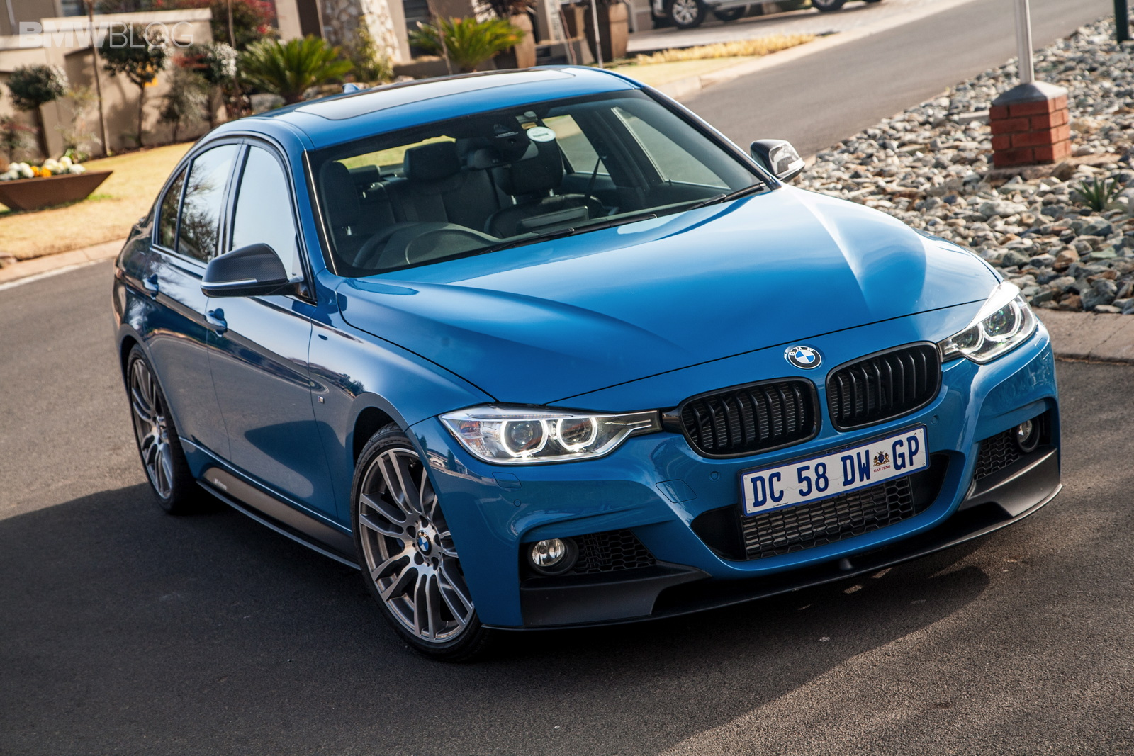 Limited Edition Bmw 3 Series Sedan M Performance Edition In Laguna Seca Blue